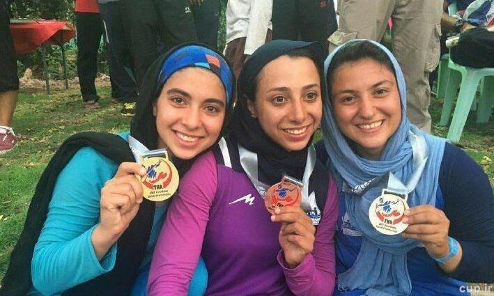 موفقیت دختران ایرانی در قایقرانی اسلالوم آسیا