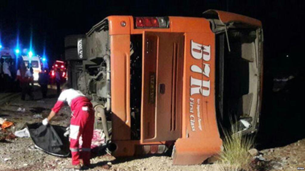 اعلام ابعاد جدیدی از تخلفات راننده اتوبوس حادثهدیده در داراب فارس