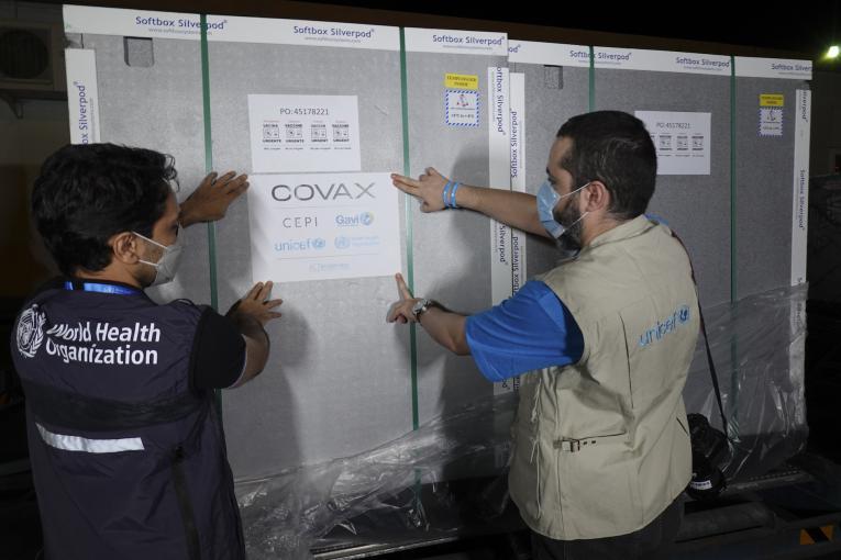 ایران سومین محموله واکسن کووید-۱۹ خریداریشده از طریق سازوکار کوواکس را دریافت کرد