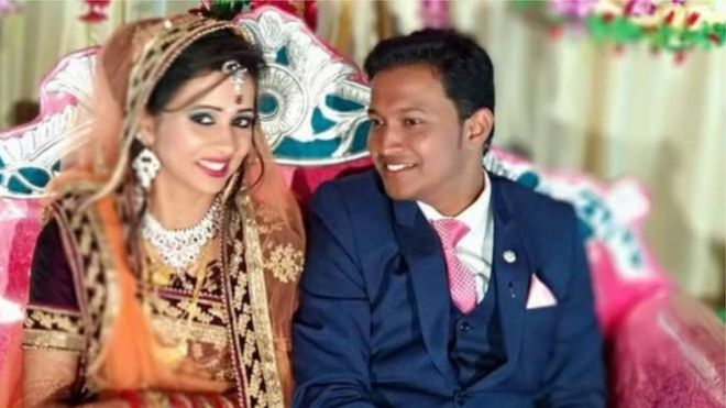 هدیه عروسی به زوج هندی بمب از آب درآمد