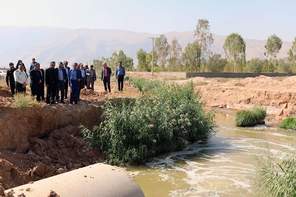 ضرب الاجل برای رفع مشکلات فاضلاب شیراز