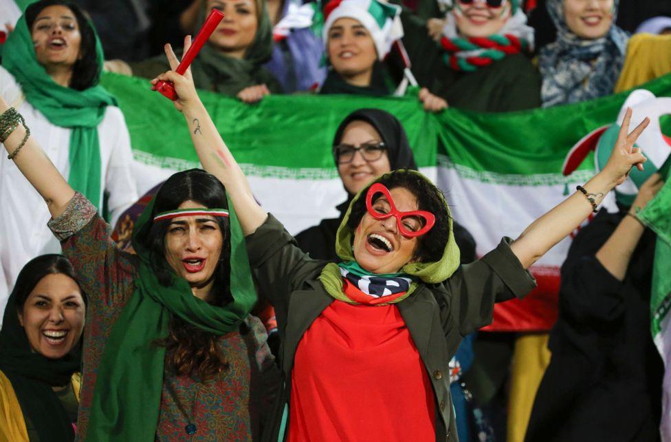 پیروزی ۱۴ بر صفر ایران در روز تاریخی حضور زنان در آزادی