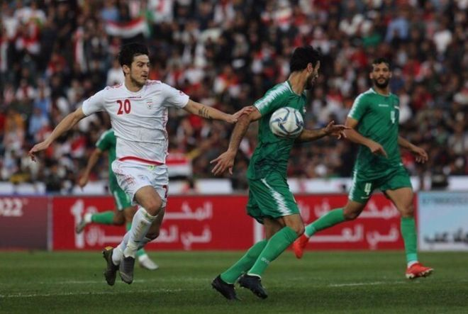 مقدماتی جام جهانی؛ تیم فوتبال عراق بر ایران پیروز شد