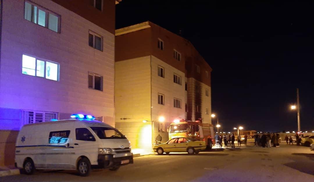 مسکن مهر در مرودشت آتش گرفت