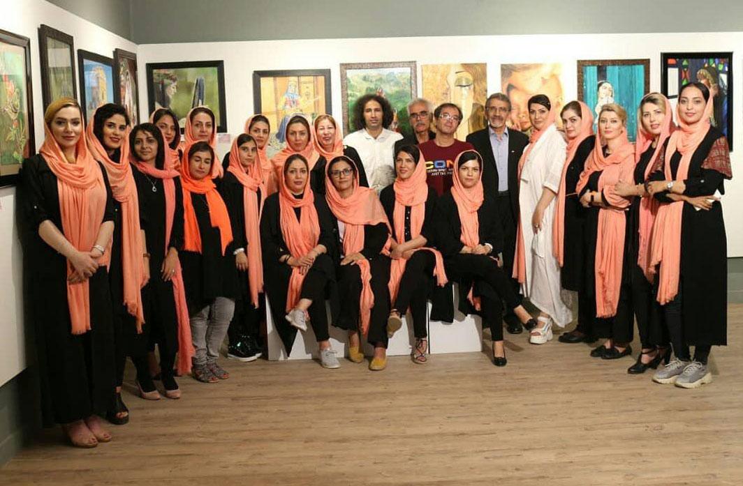 گشایش دهمین نمایشگاه نقاشی گروهی رنگیلا در شیراز