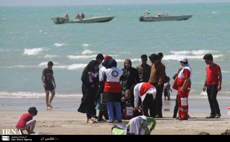 دو خواهر گناوهاى چهار زن وکودک را از غرقشدن نجات دادند