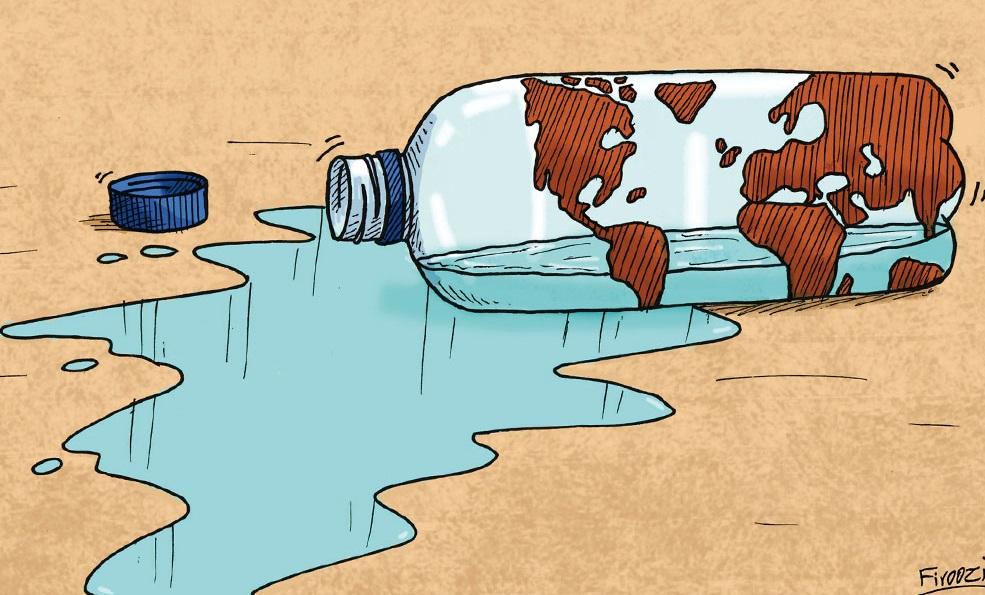 وضعیت بحرانی منابع آب در ۱۷ شهر استان فارس