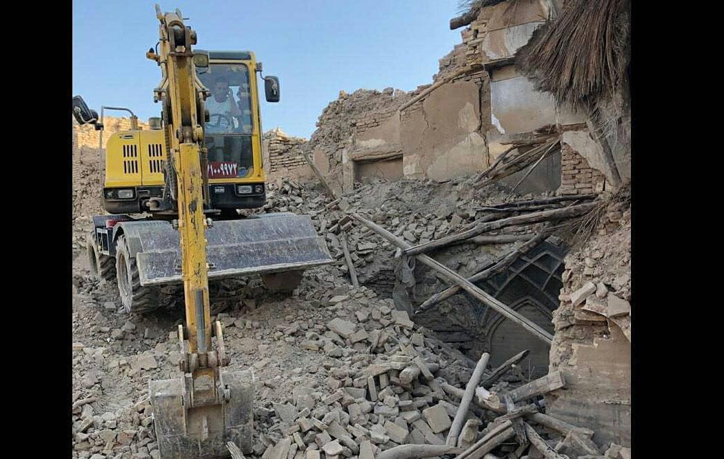 تخریب یکی دیگر از خانههای تاریخی شیراز