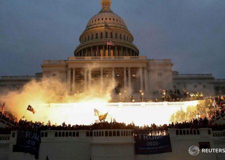 مقامات آمریکا: اشغال کنگره پس از ۴ ساعت پایان یافت