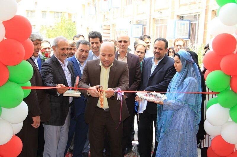 افتتاح سالن ورزشی و زمین چمن مصنوعی در دبیرستان دخترانه علوی شیراز