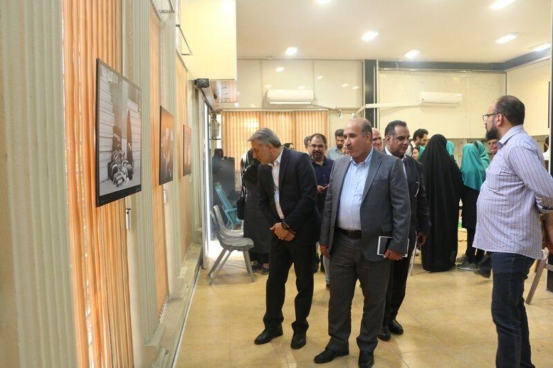 گشایش نمایشگاه دائمی عکاسان خبری شیراز