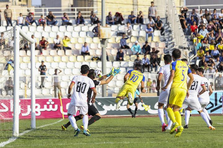 فجر شیراز به مرحله یک هشتم جام حذفی صعود کرد