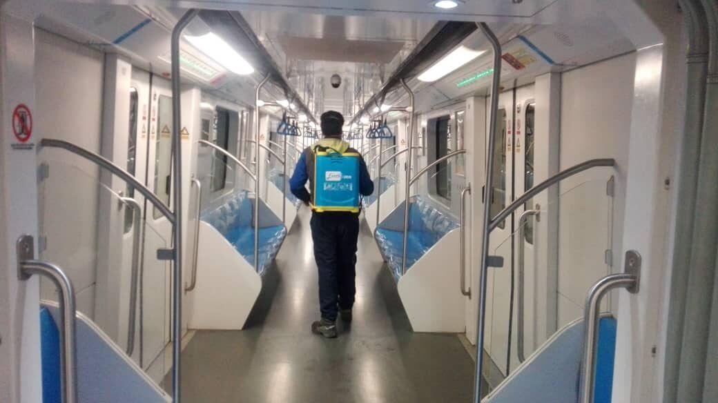 مترو و ترمینالهای مسافری شیراز تعطیل شد