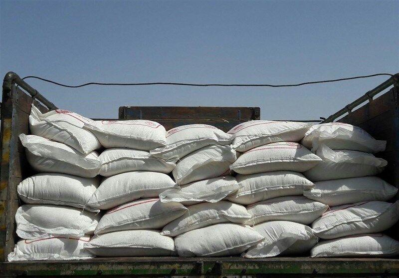 کشف و توقیف ۳۵ تن شکر در شیراز