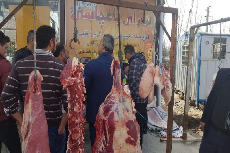 آغاز توزیع گوشت تنظیم بازار در فارس