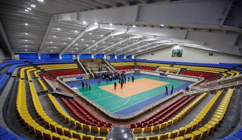 یک ورزشگاه شیراز برای قرنطینه بیماران مبتلا به کرونا اختصاص یافت