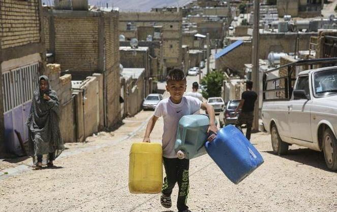 سهم روستای سلطان آباد شیراز از آب شرب: ۴ ساعت در هفته