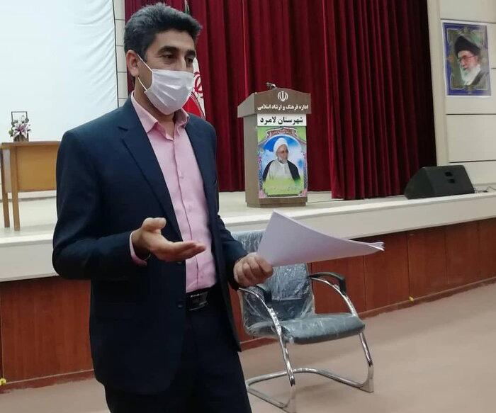 درگذشت سرپرست اداره فرهنگ و ارشاد اسلامی لامرد در جلسه مطبوعاتی
