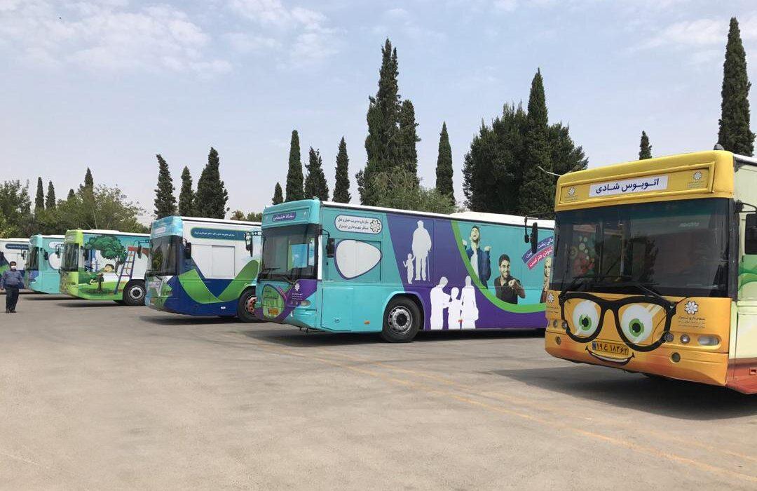 آغاز فعالیت ۶ پایگاه سیار اجتماعی در شیراز