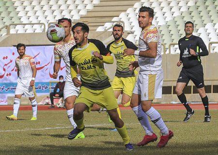 فوتبال دسته یک کشور؛ قشقایی مساوی کرد، فجر سپاسی برنده شد