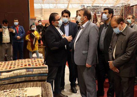 هفدهمین نمایشگاه صنعت فرش در شیراز گشایش یافت