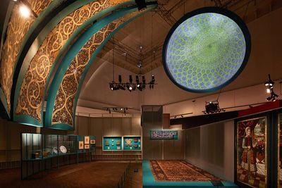 نمایشگاه ایران اسطورهای در لندن برگزار شد
