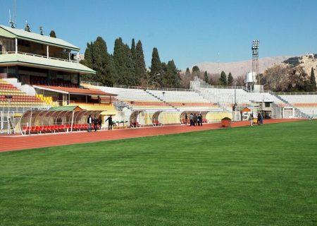 مدیرکل ورزش و جوانان فارس:ورزشگاه حافظیه شیراز دارای چمن طبیعی میشود