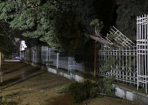 گزند توفان به دو اثر ثبت جهانی فارس