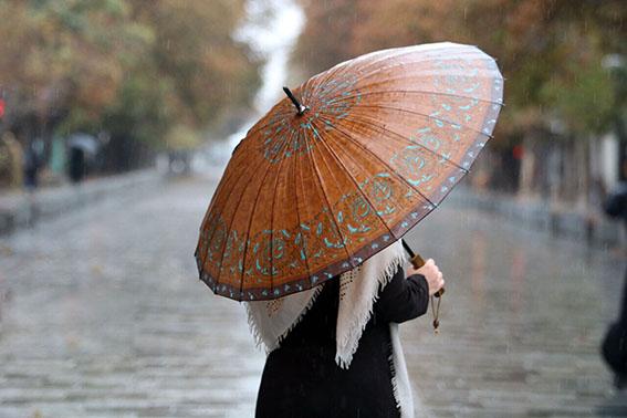 پیشبینی بارشهای پراکنده و رگباری برای فارس