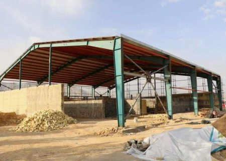 پردیس سینمای زرقان با سه سالن مجزا در حال ساخت است