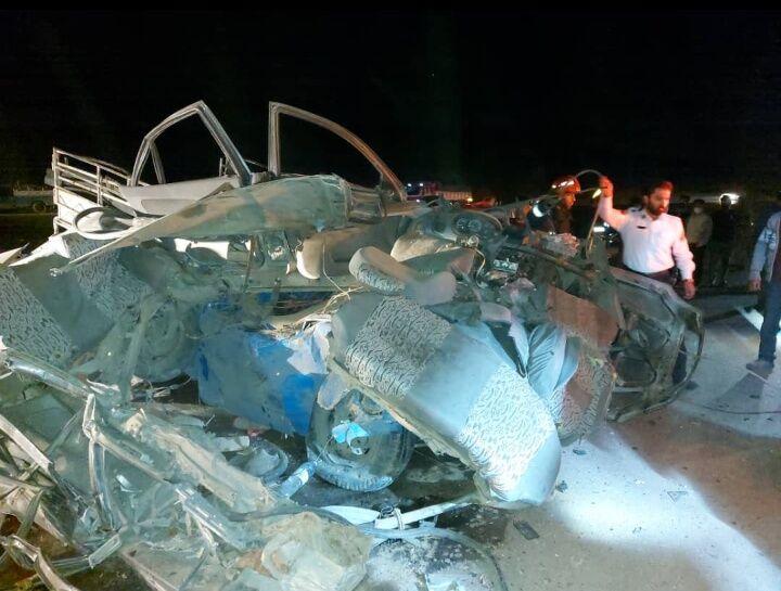۵ نفر در دو حادثه رانندگی شیراز جان باختند