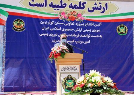 استاندار فارس: امکانات ارتش در استان نیازمند ارتقاست