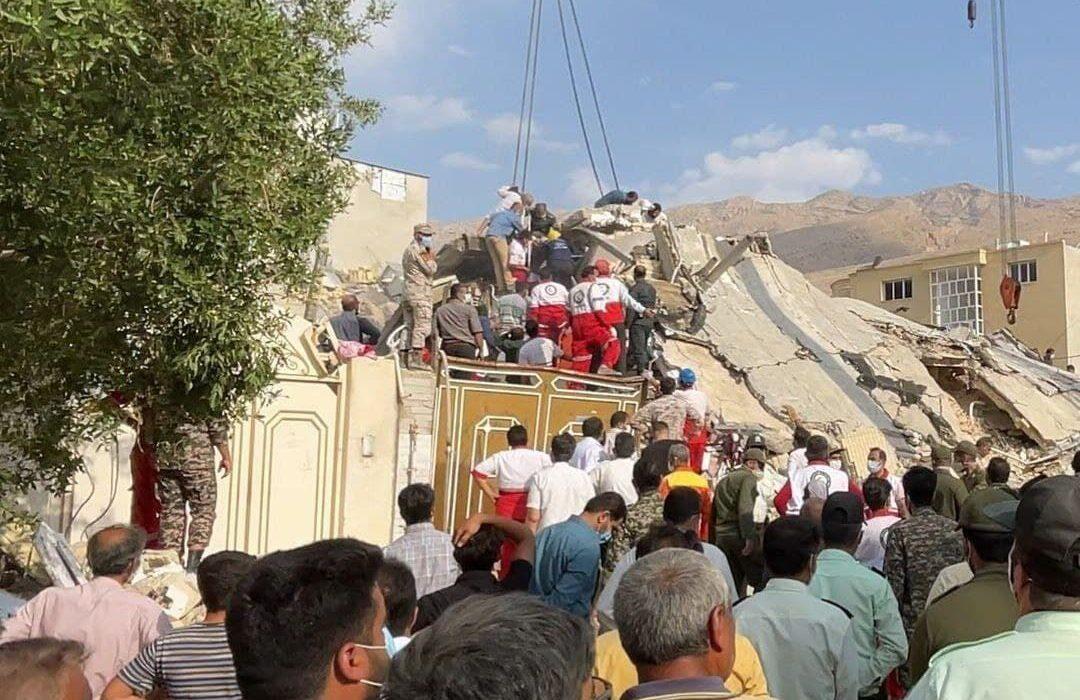شمار قربانیان حادثه انفجار منزل مسکونی در جهرم به سه نفر رسید
