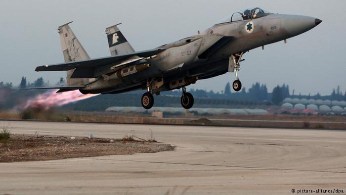 حمله هواپیمای جنگنده اسرائیل به مواضع ارتش سوریه