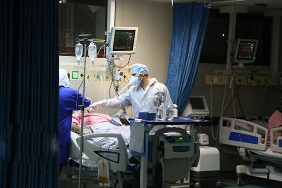 ۱۰۳۴ بیمار مبتلا به کرونا در بیمارستانهای فارس بستری هستند