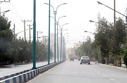 شاخصهای کیفیت هوای شیراز کاهش یافته است