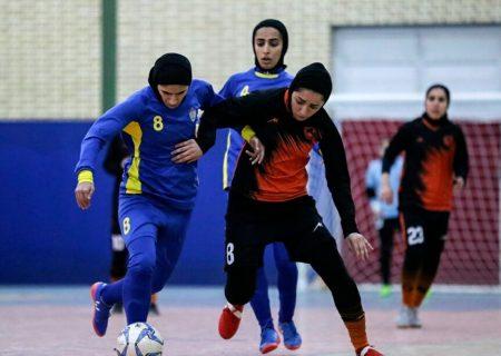 استقلال و ارم شیراز فینالیست لیگ برتر فوتسال بانوان فارس شدند