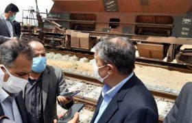 وزیر راه و شهرسازی: راهآهن اقلید – یزد خرداد ۱۴۰۰ افتتاح میشود