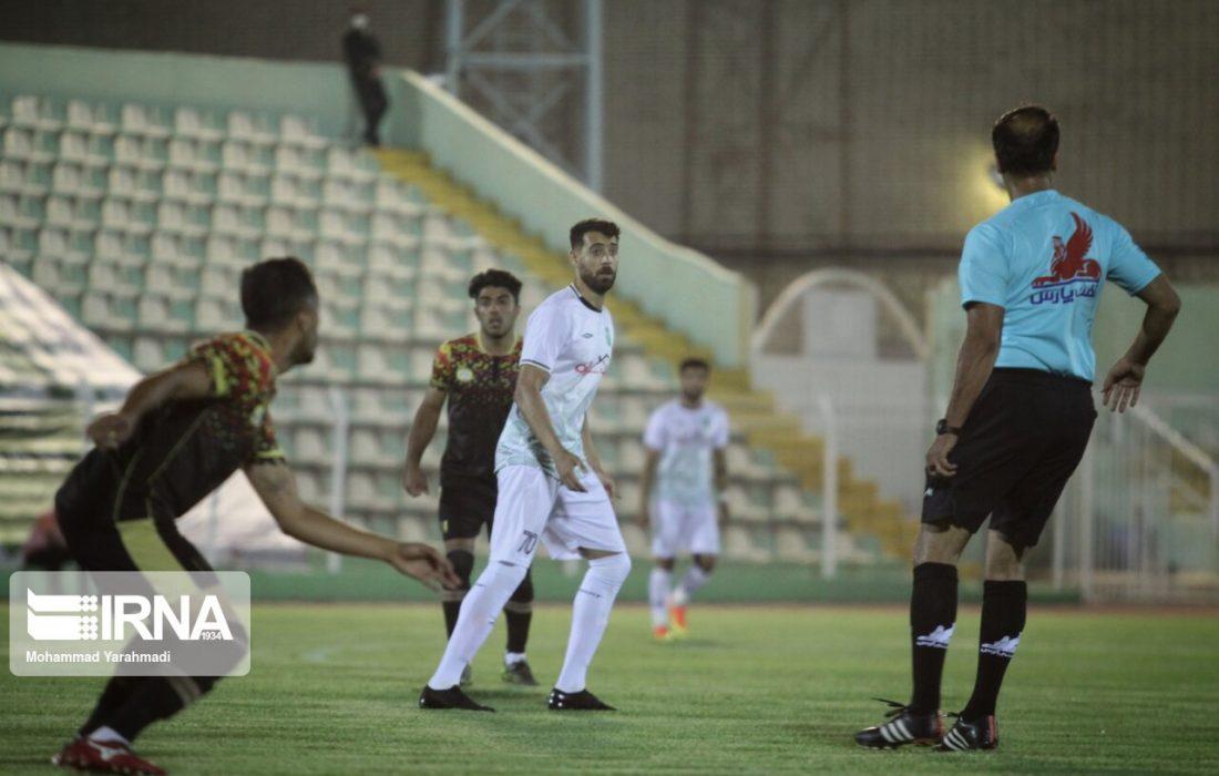 قشقایی شیراز با جام حذفی فوتبال وداع کرد