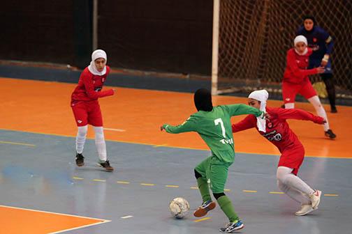 حریفان تیم های شیرازی  در لیگ برتر فوتسال بانوان شناخته شدند