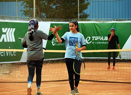 درخشش دختران ایرانی در رقابتهای تنیس جهانی شیراز