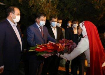 وزیر کشور تاجیکستان وارد شیراز شد
