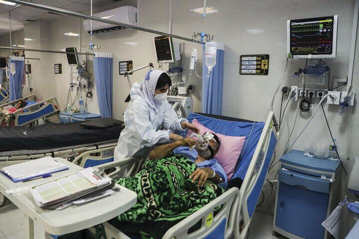 تعداد بیماران بستری در فارس به ۵۰۰۰ نفر نزدیک شد