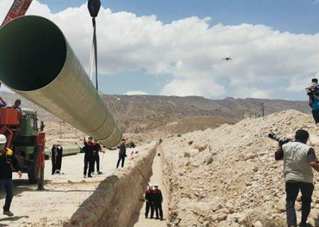 عملیات لولهگذاری طرح انتقال آب دریا به فارس آغاز شد
