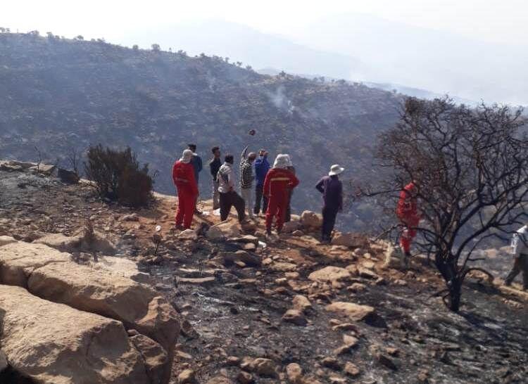 مصدوم حادثه آتشسوزی هایقر فیروزآباد جان باخت