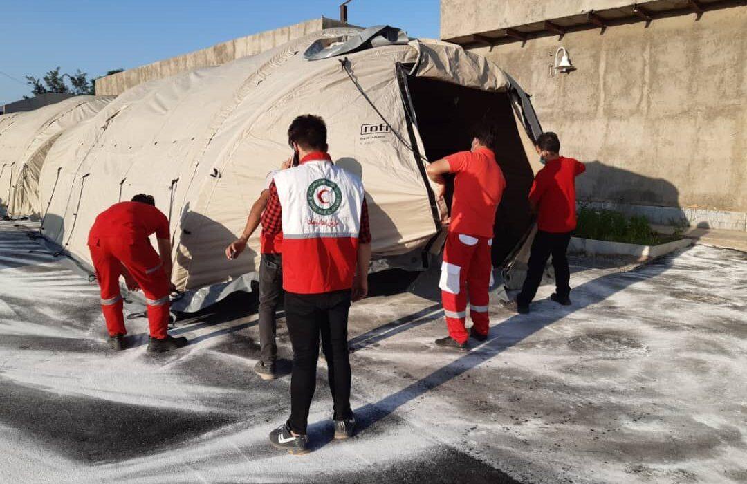 سه بیمارستان صحرایی در فارس به یاری درمان کرونا آمد