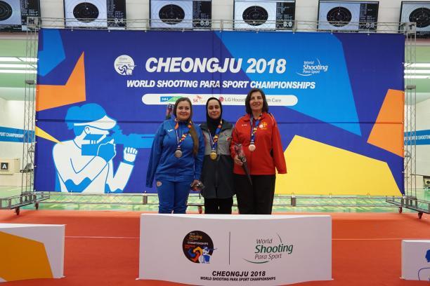 ساره جوانمردی، ورزشکار شیرازی قهرمان جهان شد