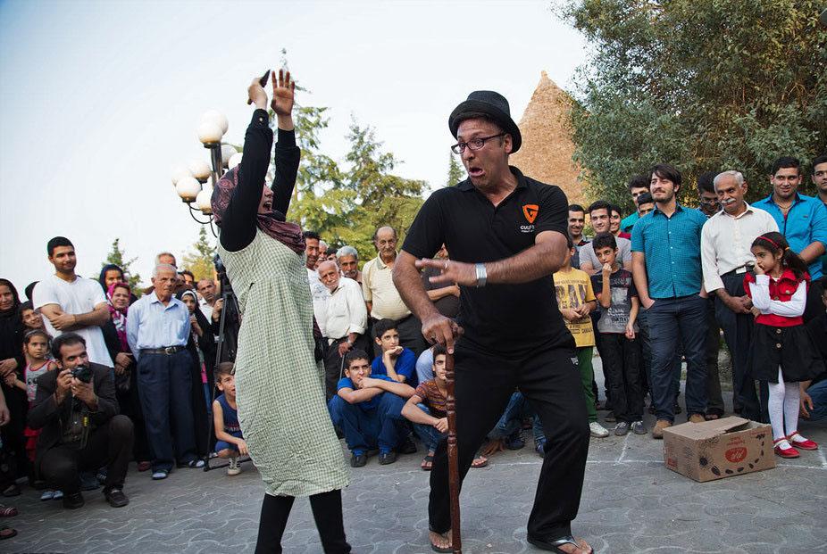 کارگاه آموزشی تخصصی تئاتر خیابانی در شیراز