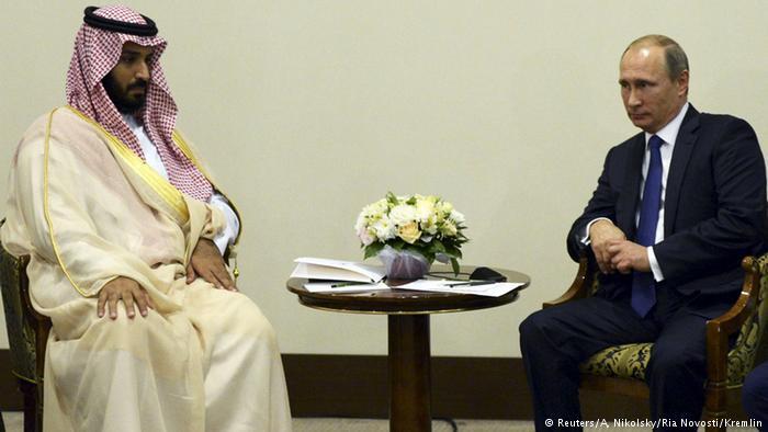 دیدار مقامات روسیه و عربستان، با توافقهای احتمالی درباره سوریه