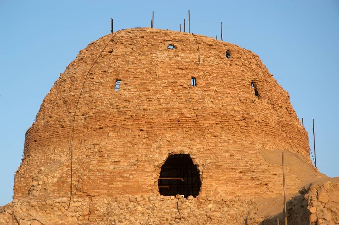 تلاش برای نجات کاخ جهانی ساسانی در فارس